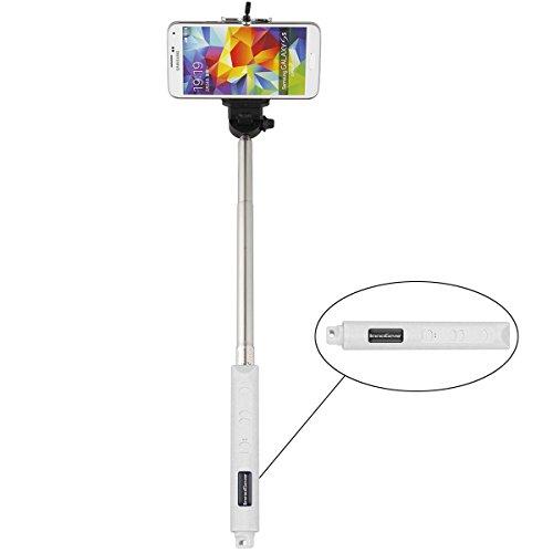 selfie innogear selfie stick with remote shutter self portrait bluetooth mo. Black Bedroom Furniture Sets. Home Design Ideas