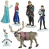 Frozen Figure Play Set 6pcs Doll Anna Elsa Hans Kristoff Seven Olaf Gifts