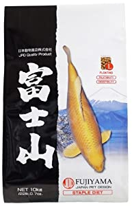 JPD 22-Pound Fujiyama Staple Diet for Fishes, Large