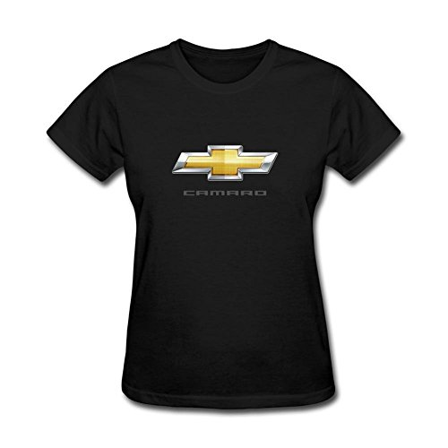 ZHENGXING Women's Chevrolet Camaro Logo Short Sleeve T-Shirt M ColorName (Chevy Camaro Womens Apparel compare prices)