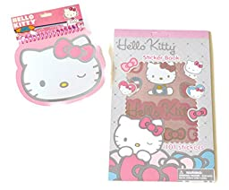 Hello Kitty Sticker and Notebook Set