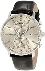 Kenneth Cole New York Men's KC1779 Dress Sport Round Chronograph with Date Watch