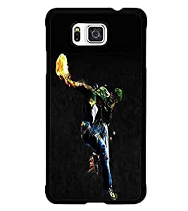 PrintDhaba Dancing Boy D-2212 Back Case Cover for SAMSUNG GALAXY ALPHA (Multi-Coloured)