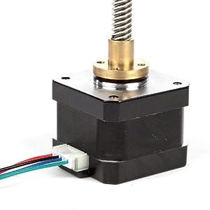 SainSmart NEMA 17 Lead Screw 300mm Stepper Motor M8 Z axis for 3D Printer CNC RepRap