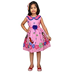 Hawai Bright Pink Frock For Girl