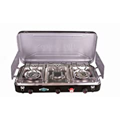 Stansport 212-300 Outfitter Series 60K B.T.U. Output Propane Stove by StanSport