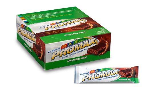 Promax Bar, Chocolate Mint, 2.64 oz. each,12-count Box