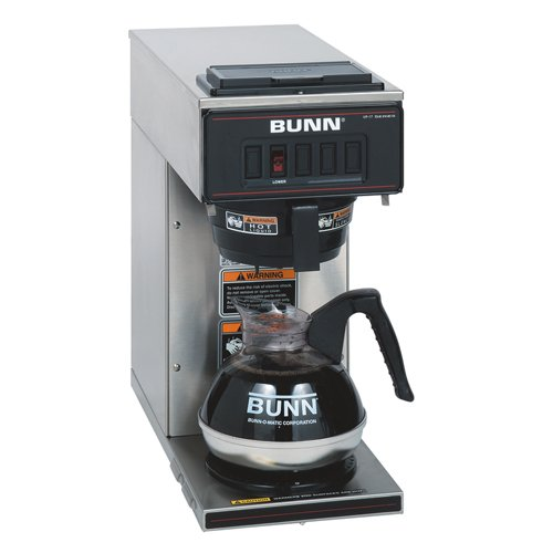 BUNN 13300.0001 VP17-1SS Pourover Coffee Brewer Best Sale - heybestbuy3