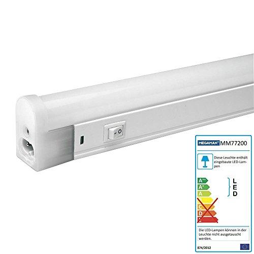 Megaman-LED-Lichtleiste-Kche-Schrank-Leuchte-11-Watt-Unterbauleuchte-58-cm