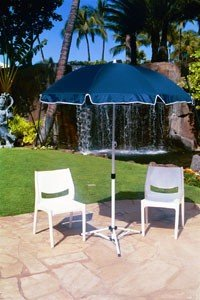 Joe Shade Portable Umbrella - Blue by Mits Partners
