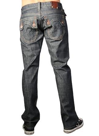 "Laguna Beach Jean Company Men's Phantom Pocket Raw Blue Slim Fit Huntington Beach Denim-Sz. 40""x34"""
