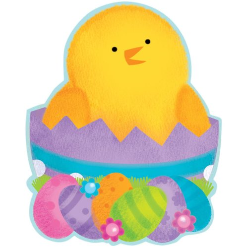 Easter Hatching Chick Cutout 15 1/2in