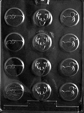 BOW & ARROW HUNTER MINTS Sports Candy Mold Chocolate