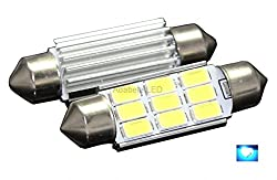 See Best Ridiculously Bright Samsung White 9 LED Light Bulbs Auto Replacement Lighting Interior Dome Trunk Map Reading Light Bulb 39MM Festoon 6411 6413 6423 6461 6418 DE3425 DE3423 L173 Details