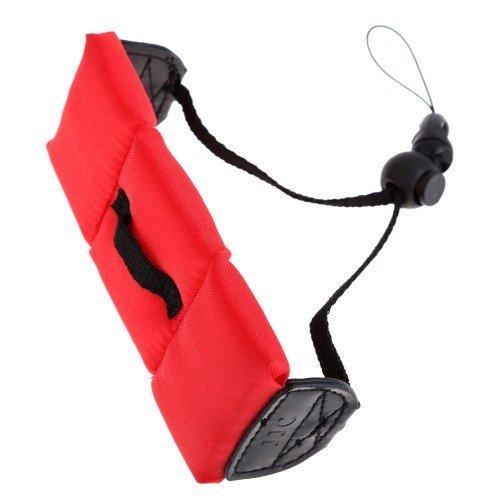 Comple Floating Pe Foam Wrist Arm Strap For Waterproof Digital Camera Dslr Red