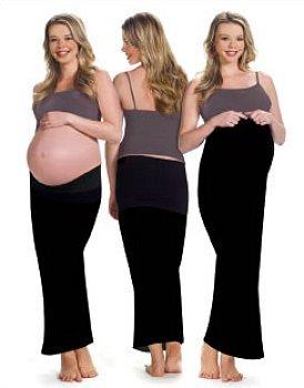 Ingrid & Isabel Skinny Skirt - Black - Size 3/4 front-615868
