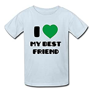 Custom i love my best friend t shirt light for Amazon custom t shirts