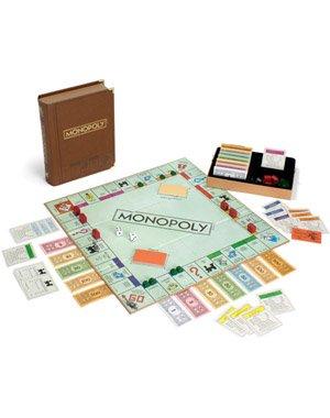 Imagen de Monopoly Edición Biblioteca Clásica