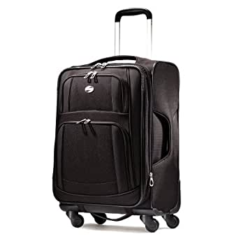 American Tourister Luggage Ilite Supreme 29 Inch Spinner Suitcase, Black, 29 Inch