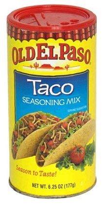Old El Paso Seasoning, Taco, 6.25-ounce (Old El Paso Taco Seasoning compare prices)