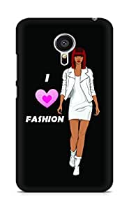 Amez designer printed 3d premium high quality back case cover for Meizu MX5 (Color sketch of a beautiful fashion young African girl)