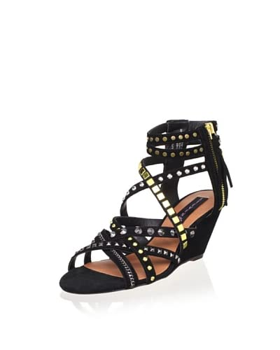 STEVEN by Steve Madden Women's Soulfil Sandal  - Black Multi