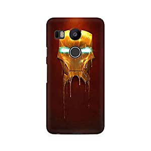 TAZindia Printed Hard Back Case Cover For LG Nexus 5X