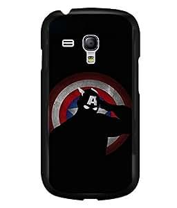 printtech Superhero Avengers Shield Back Case Cover for Samsung Galaxy S3 Mini::Samsung Galaxy S3 Mini i8190