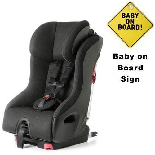 Clek Fo12U1-Bk2B Foonf Convertible Seat W Baby On Board Sign - Drift front-271633