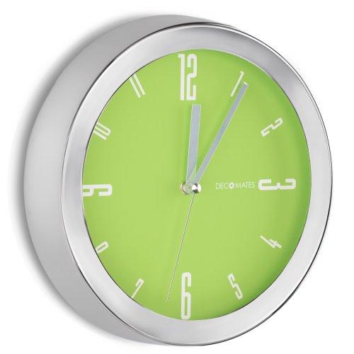 bright lime green wall clock