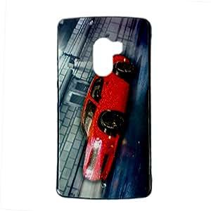 VAV New Sparkle Printed Soft Back Case Cover For Lenovo K4 Note