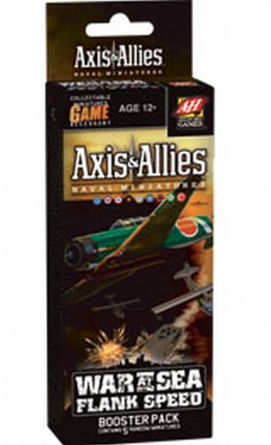 41YTOlYrH5L Cheap Buy  War at Sea: Flank Speed: An Axis & Allies Naval Miniatures Game Booster (Axis & Allies Miniatures)