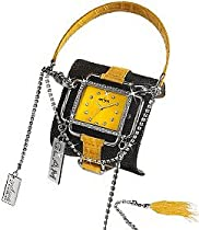 Axcent Glam Watch (Jean/Yellow)