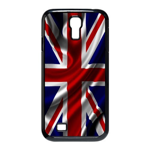Generic Mobile Phone Cases Cover For Samsung Galaxy S4 Case I9500 Case Diy Customized Uk British Flag Union Jack Design Plastic Cell Phones Protective Shell Personalized Pattern Skin