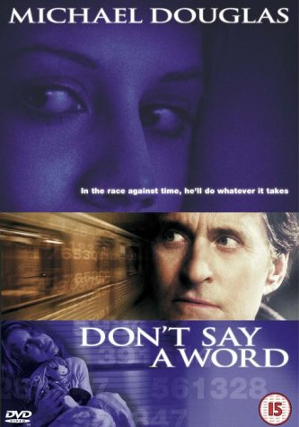 Don't Say A Word - Dvd [2002]