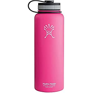 Hydro Flask 40oz Wide Mouth Insulated Bottle Pinkadelic Pink One Size