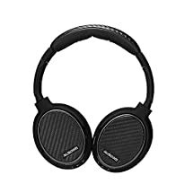 Ausdom M05 Bluetooth 4.0 Over-ear Headphones Wireless + Wired Stereo Headphones +EDR (Enhanced Data Rate) with aptX Built-in Microphone for Music Streaming & Hands-free Calling