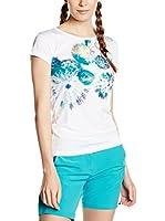 Alpine Pro Camiseta Manga Corta QUARTO 2 (Blanco / Azul)