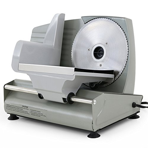 Best Price ARKSEN© Electric Commercial Deli Meat Slicer, Stainless Steel, 7.5-inch, 180-Watt