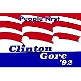 Bill Clinton Al Gore 1992 Campaign Poster 12x18