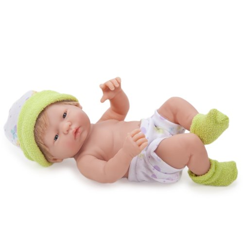 Jc Toys Mini La Newborn Baby Doll, Green