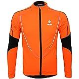 Arsuxeo vêtement d' hiver Vêtements Veste Manteau chaude Wear Jersey à manches longuesveste Courir Excercise vélo Bike Sports de plein air