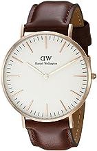 Comprar Daniel Wellington 0106DW Reloj Analógico para Hombre de Cuero Marrón