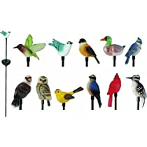 Big Sale Woods Ind. 92239FD Moonrays Bird Stake Light Lawn Ornament Pack of 16