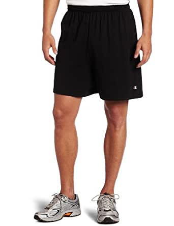 Champion Mens Jersey Short, Black, Small