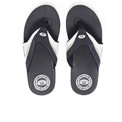 Animal Fader Premium Flip Flops - Navy Blue-7