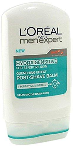 L'Oréal Men Expert Balsamo Dopobarba, per Pelli Sensibili Hydra Sensitive, 100 ml [Versione inglese]