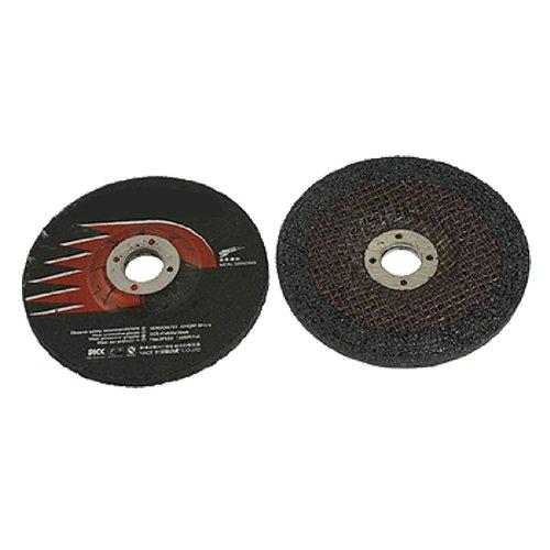 Amico 2 Pcs 100mm Outside Dia Metal Polishing Discs Abrasives Grinding Wheels