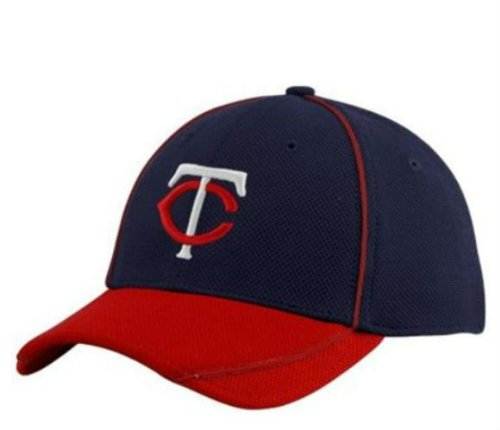 Minnesota Twins New Era Batting Practice Flex Fit Youth Hat Throwback TC Logo - BP On Field Cap at Amazon.com