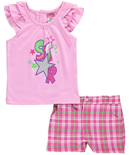 "Angel Face Little Girls' Toddler ""Special Star"" 2-Piece Outfit"
